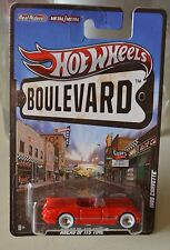 2012 Hot Wheels Boulevard 1955 CORVETTE Real Riders Tires NEW NEW