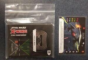 Star Wars X-Wing 2020 op kit  Kylo Ren Cardboard plus Card
