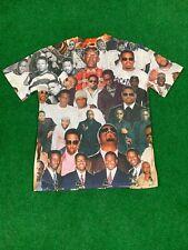 Subliworks Boyz II Men Photo Collage T-shirt~LARGE~ Motown Philly Black Boys Men
