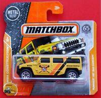 MATCHBOX 2018  HUMMER H2 SUV CONCEPT 43/125   NEU&OVP