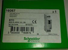Schneider multi 9 - 16067 rtc relais temporisé 24VDC 24-240VAC 0.1s - 100h