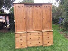 Stunning Victorian Pine Estate Housekeepers Pantry Cupboard