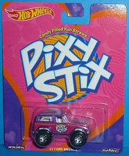 HOT WHEELS Pop Culture Pixy Stix '67 Ford Bronco Real Riders 1967