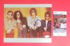 "IZZY STRADLIN SIGNED VINTAGE 8"" X 10"" COLOR PHOTO WITH JSA COA Guns N' Roses"
