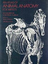 An Atlas of Animal Anatomy for Artists (Dover Anatomy for Artists), 0486200825,