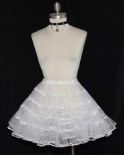 SHORT PETTICOAT HALF SLIP Dirndl German Oktoberfest Swing Dress XS S M Sz0 to 10
