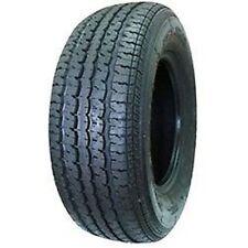 2 New Tires 205 75 14 Hi Run Trailer 6 Ply ST205/75R14 Radial Boat 96L ATD
