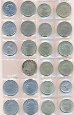 Sacco 23 Monete Coins 4x 25,3x 10,4x 50,1x 5,7x 10 bin,4x 25 bin Lira Turchia