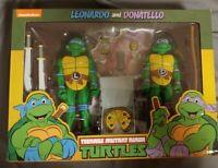 NECA Teenage Mutant Ninja Turtles LEONARDO & DONATELLO 2-Pack Figure Target TMNT