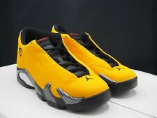 "Nike Air Jordan XIV 14 Retro ""Yellow Ferrari"" BV1218-706 GS 5.5Y / Women's 7 US"
