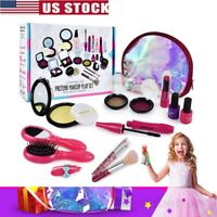 Pretend Play Cosmetic Makeup Toy For Girls Kids Beauty Toys Christmas Xmas Gift-