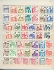 Berlín castillos & Taccone roles marcas rodamient. 3-er rayas, números, XX #brdrm 85