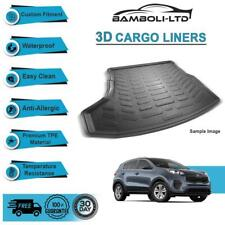 Fit for KIA SPORTAGE 2016-2019, Rear Liner Rubber 3D Cargo Trunk Mat