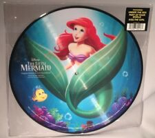 LP SOUNDTRACK The Little Mermaid (PICTURE DISC Walt Disney 2014) NEW MINT