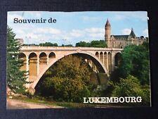 CPM Souvenir de Luxembourg