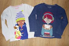 Mini Boden LA-Shirts, 2 Tlg.Paket für Mädchen. 4-5 Y