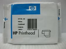HP 90 Yellow Printhead C5057A Genuine *** SHIPS OVERBOXED ***  Date: 2013
