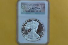 2014 W PROOF SILVER EAGLE NGC PF69 ULTRA CAMEO STATUE OF LIBERTY LABEL