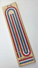 Bicycle 3-Player Cribbage Board w/ Character Pieces Pegs