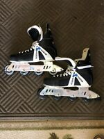 MAGNUM TORQUER 302 WEDGE DESIGN ROLLER HOCKEY SKATES MEN SZ11 READ DESCRIPTION