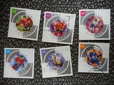 COMPLETE SET USED CANADA #1972a-f