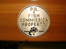 Pa. Fish Commission Property.  Sign