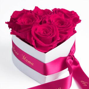 Infinity Rosenbox konservierte Rosen die Beste Mama der Welt Muttertagsgeschenk
