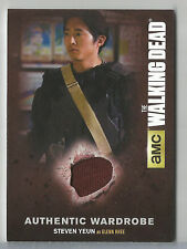 2016 Walking Dead Season 4 Part 2 Steven Yeun as Glenn Rhee Wardrobe Relic M44
