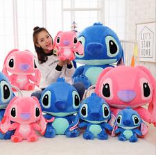 Blue Lilo Stitch Disney Official Anime Plush Toy Soft Stuffed Kids Birthday new1