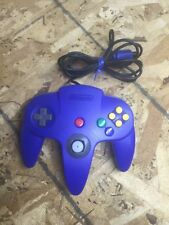 Solid Blue Nintendo 64 Controller (Nintendo 64) *Used*