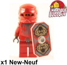 Lego Figurine Minifig Castle Knights Kingdom II Santis + bouclier cas259 NEUF