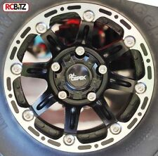 "Dick Cepek Torque 1.9"" Internal Beadlock Wheels with scale center Hub with Logo"