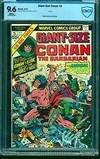 Giant-Size Conan #5 CBCS NM+ 9.6 White Pages
