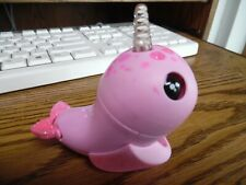 Wowwee Fingerlings Baby Narwhal - Rachel - Pink Glitter Sparkle Light Up Horn