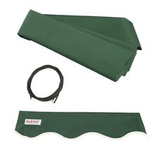 ALEKO Fabric Replacement For 8x6.5 Ft Retractable Awning Green Color