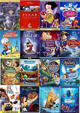 Disney Classic Special Edition DVD Bluray Lot Of 93 Finding Dory Moana (Pick 5)