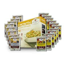 1 Month Emergency Food Supply 112 Servings Survival Camping by Wise Company