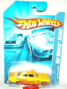 Hot Wheels 2007 Hot Wheels Stars Ford Thunderbolt yellow, excellent card