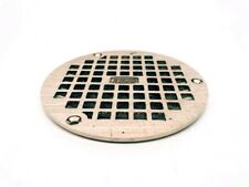 "Zurn 5"" Diameter Burshed Nickel Drain Plate"