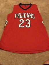 Men's Anthony Davis New Orleans Pelicans Jersey SGA Size XL Red NBA #23