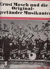 """ERNST MOSCH und die Original-Egerländer Musikanten > 12"""" Vinyl LP -DBG Edition"""
