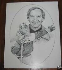 1986-87 Kraft Jacques Laperriere Unissued Canadiens Poster