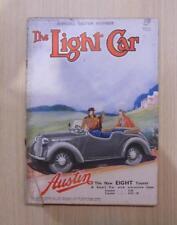 THE LIGHT CAR MAGAZINE 24 Mar 1939 - MG Midget, Triumph 12 Tested, New Riley ++