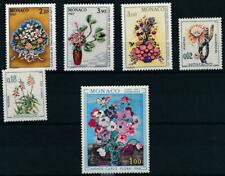 [16255] Monaco flowers good lot very fine MNH stamps