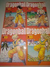 Dragon Ball Power Level 69 Manga Japonés Tomos 1 A 4 Colección Completa
