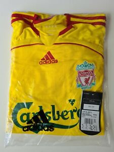 Liverpool away Shirt long sleeve 2006/2007 Brand New With Tags Medium size