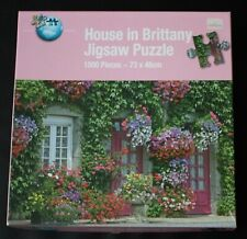 1000 Pieces House In Brittany Jigsaw Puzzle