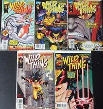 WILD THING 1-5 (NM) Full Set! Wolverine's Daughter! MC2 Universe 1999 Marvel