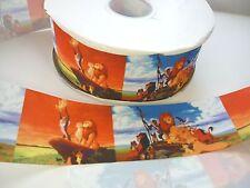 Cake Craft  RIBBON Decoration Birthday Cake Decorating- 50mm - LION KING - 1m