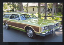 1971 FORD COUNTRY SQUIRE STATION WAGON CAR DEALER ADVERTISING POSTCARD COPY